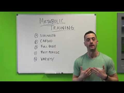 What Is Metabolic Training?