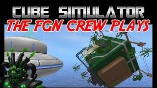 the fgn crew plays roblox cube simulator pc