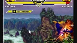 MUGEN: Evil Ken Combo Video 2009