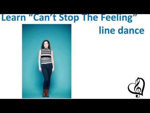 """""""Can't Stop The Feeling"""", Justin Timberlake - Line Dance (written instructions below)"""