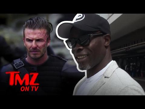 Djimon Hounsou Tells Us What It's Like Working With David Beckham | TMZ TV