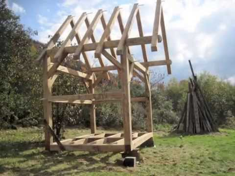 The Hawk Circle Small Timber Frame Youtube