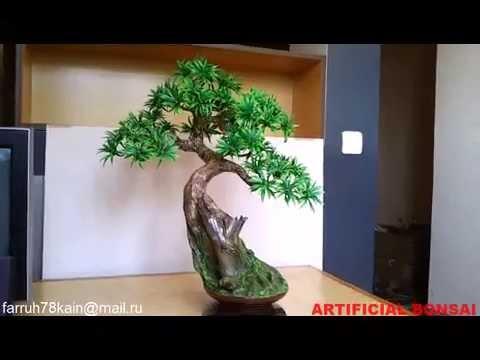 artificial bonsai tree 2 youtube. Black Bedroom Furniture Sets. Home Design Ideas