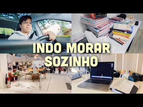 INDO MORAR SOZINHO!
