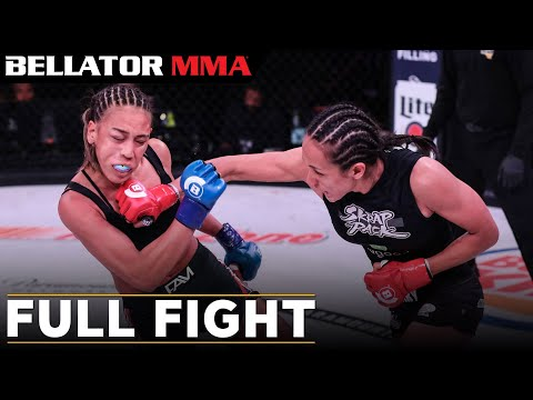 Full Fight | Keri Melendez vs. Tiani Valle - Bellator 201