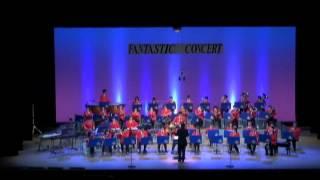 2012年7月14日に森町文化会館ミキホールで開催された、袋井市民吹奏楽団...