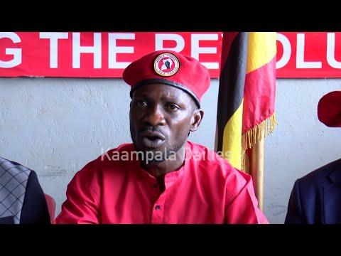 Bobi Wine waakukwatibwa ne Nkoofila z'amajje