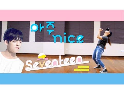 SEVENTEEN '아주 NICE' (VERY NICE) Dance Tutorial | FULL Mirrored [Charissahoo]