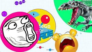 Agario Epic Team Gameplay Agar.io Experimental Funny Moments!