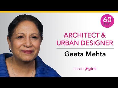 Architect   Geeta Mehta   60 SecondsKaynak: YouTube · Süre: 1 dakika10 saniye