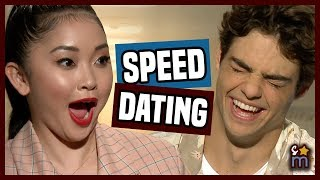 Speed Dating with Lana Condor & Noah Centineo from TO ALL THE BOYS I'VE LOVED BEFORE