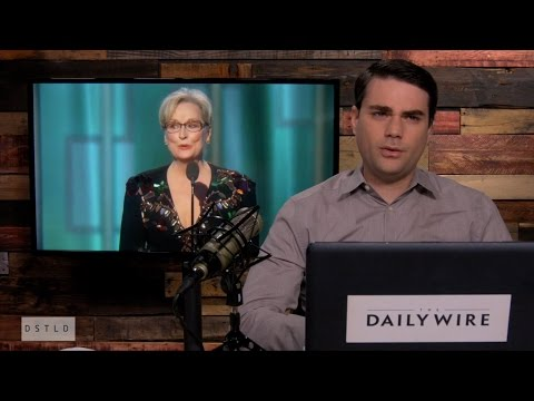 Thumbnail: Ben Shapiro Deconstructs Meryl Streep's Golden Globes Speech