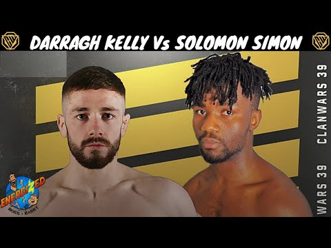 Darragh Kelly Vs Solomon Simon Clan Wars Elite Series Energized The Face Off Youtube