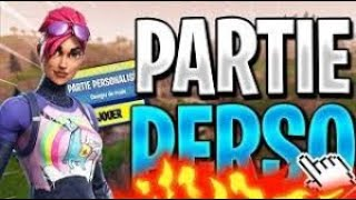 LIVE FORTNITE PART PERSO [CODE CREATER: NIIINHO69] ALL NIGHT Veneto IN BALLLE !!!