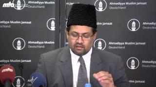Ausbeutung von Flüchtlingen - Stellungnahme Ahmadiyya Muslim Jammat (Pressekonferenz)