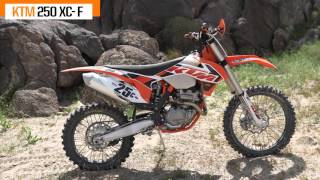 2015 250cc Four-Stroke Off-Road Comparison