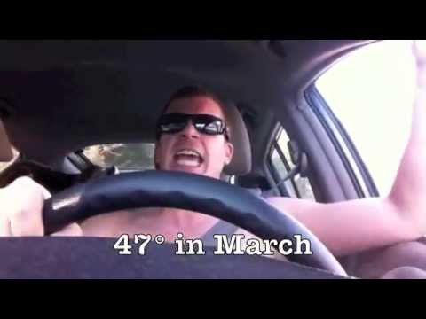 47° in March, in New Hampshire