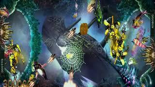 Panda Assassin Alien Attack Fire Dragon with Transformer Bubble Bee Fish Hunter shooting arcade game