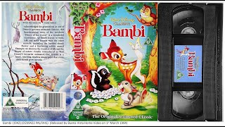 Download Bambi (1st March 1994) UK VHS