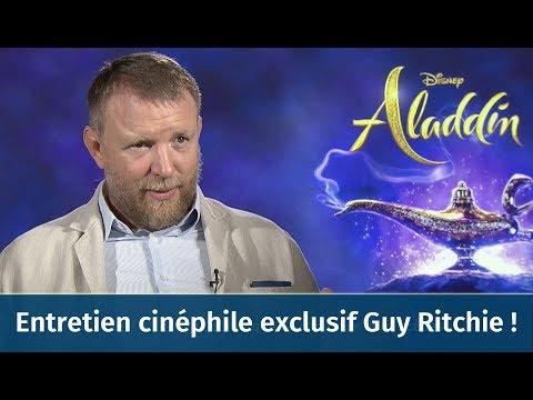 Guy Ritchie (Aladdin/Sherlock Holmes) en entretien cinéphile exclusif avec Kevin Elarbi !