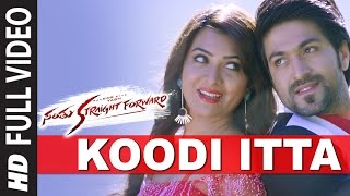 Koodi Itta Full Video Song || Santhu Straight Forward || Yash, Radhika Pandit
