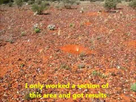 NEW GOLD NUGGET PATCH- NEW AREA- LEONORA- WESTERN AUSTRALIA PART 3