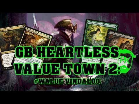 GB VALUE TOWN II  The Frog is Back, with Assassins Trophy MTG Modern Gameplay