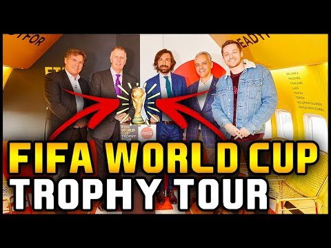 I'M TAKING THE WORLD CUP TROPHY TO RUSSIA 2018!