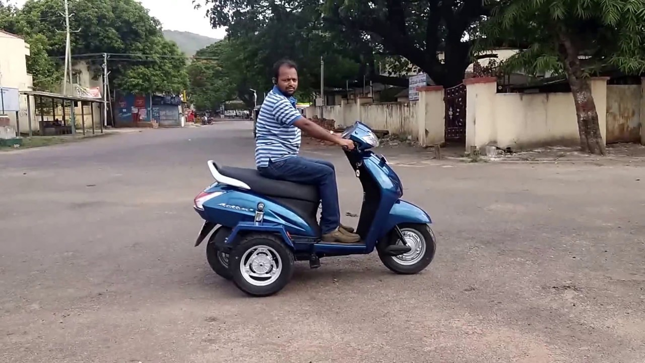 HONDA ACTIVA 3G,4G,5G COMPACT DESIGN MODIFIED BY BAJEE AND