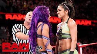 Sasha Banks & Bayley vs. Liv Morgan & Sarah Logan: Raw, June 18, 2018
