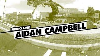 Firing Line: Aidan Campbell