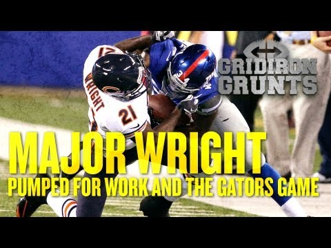 Major Wright Excited for Work and The Gators Game