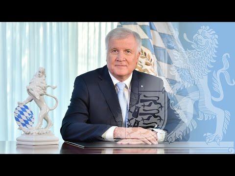 Neujahrsansprache 2017 des Bayerischen Ministerpräsidenten Horst Seehofer - Bayern