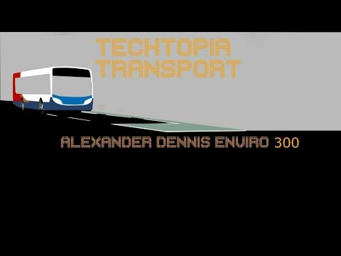 Alexander Dennis Enviro 300 (22576)(SP08DDF) Extreme kick down