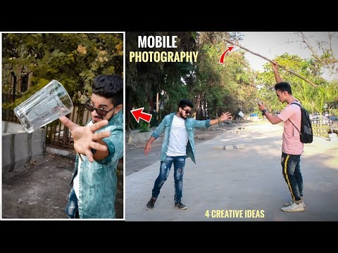 4 AMAZING Mobile Photography Tips And Tricks With Creative Ideas 🔥 Step By Step In Hindi 2019