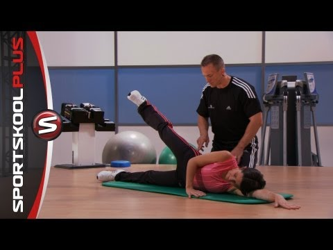 Intermediate Core Exercises with Fitness Coach Mark Verstegen Part 1