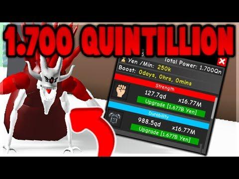 POWERFUL ETO *1.700 QUINTILLION* VS THE ENTIRE SERVER IN ANIME FIGHTING SIMULATOR! (ROBLOX)