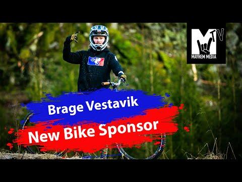 MayhemTV S1 E1 Brage Vestavik New Bike Sponsor