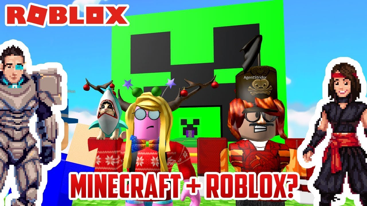 Roblox Minecraft Obby Izzy S Game Time Fail Youtube