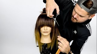 Shag with a Bang Dry Haircut Tutorial - Texture Collection 2018