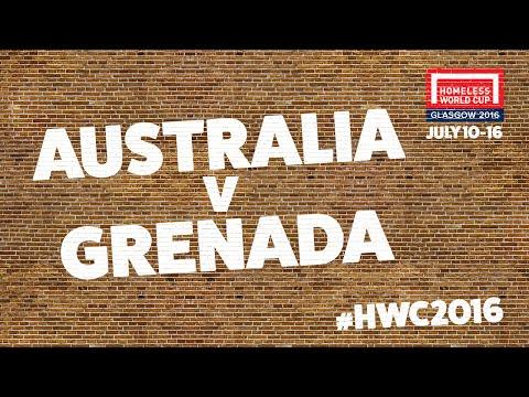 Australia v Grenada l Second Stage Group E #HWC2016