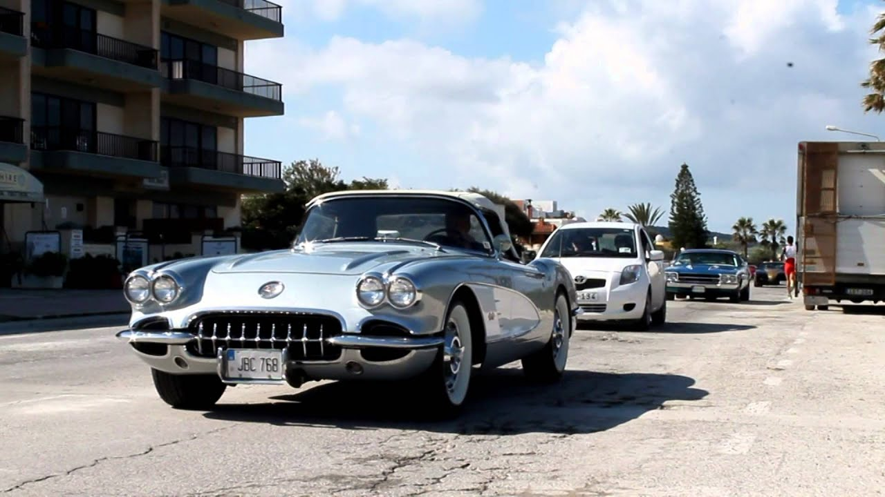 Over 30 American Muscle Cars   Classic and Modern - YouTube