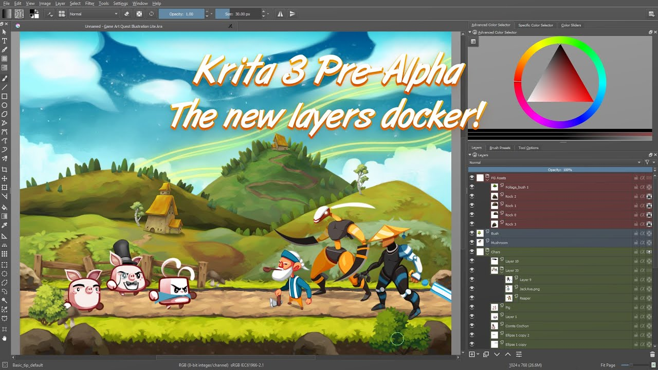 Krita 3 0: The Animation Release | Krita