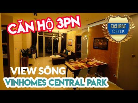 3 phòng ngủ Park 1 view sông Vinhomes Central Park có gì hấp dẫn?