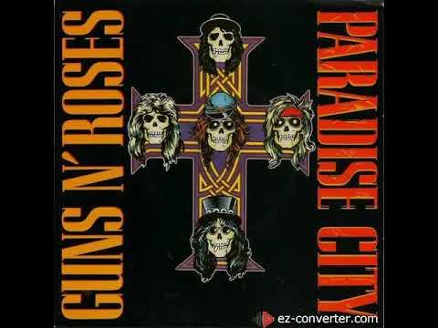Guns N' Roses Paradise City (Isolated Guitar Solo Track Slash)