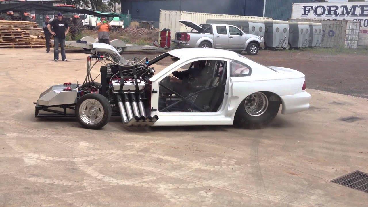 Top Fuel Mustang Youtube