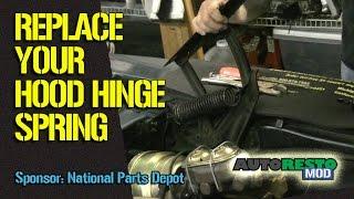 Install Classic Car Hood Springs Episode 231 Autorestomod