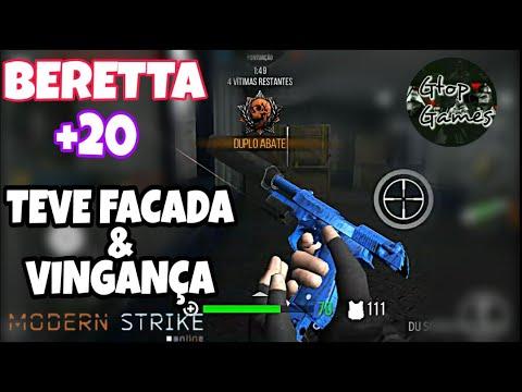 """MSO, """"PARTIDA SÓ DE BERETTA+20, TOMEI FACADA E ME VINGUEI !!!"""