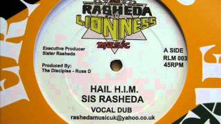 "12"" Side A: Sis Rasheda - Hail H.I.M. Vocal + Dub"