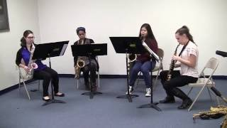 Saxophone Quartet - Gold Rush Suite : Sweet Betsy From Pike